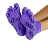 ProSource-Discounts-Full-Toe-Yoga-Socks-Purple-SmallMedium-0