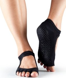 ToeSox-Womens-Bella-Half-Toe-Grip-Ankle-Socks-0