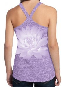 Yoga-Clothing-For-You-Ladies-Lotus-Flower-T-back-Tank-Top-0