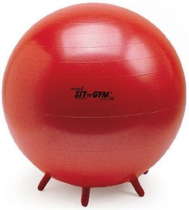 Gymnic-Sit-n-Gym-Plus-22-Sitting-Ball-Red-0