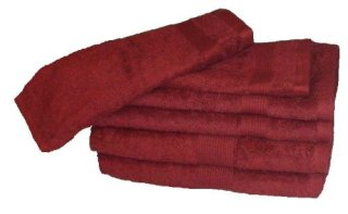 Revere-Mills-Air-Lite-Elite-Zero-Twist-Cotton-Towel-Set-6-Piece-Flag-Red-0
