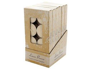 Scented-Tea-Lights-Linen-Breeze-Counter-Top-Display-Case-Of-8-0