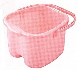 Inomata-Foot-Detox-Massage-Spa-Bucket-Pink-0