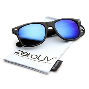 Flat-Matte-Reflective-Revo-Color-Lens-Large-Horn-Rimmed-Style-Sunglasses-0